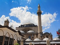 The Mevlana museum, located in Konya, Turkey, is the mausoleum of Jalal ad-Din Muhammad Rumi. Фото RVC5Pogod - Depositphotos_11538143