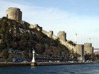 Old fortress, last defense of Byzantine, East Roman Empire. Istanbul, Turkey. Фото Jovan Jaric - Depositphotos_2952012