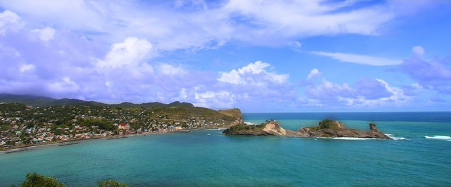 Сент-Люсия. Dennery Bay - Saint Lucia. Фото Jason Ross  - Depositphotos