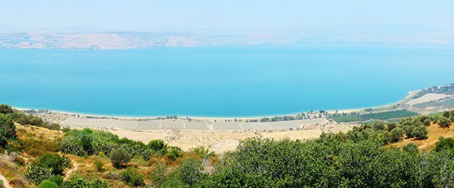 Израиль. Мертвое море. Dead Sea coast. Israel. Panorama. Фото Tatiana Belova - Depositphotos