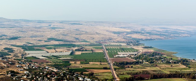 Израиль. Panorama of the Galilee in the summer. North Israel. Фото Larisa Pakhtusov - Depositphotos