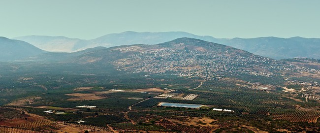 Израиль.  View of the lower Galil Israel. Фото Larisa Pakhtusov - Depositphotos