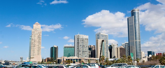 Израиль. Тель-Авив. Tel-Aviv, Israel, Panorama of the city. Фото Vladimir Liverts - Depositphotos