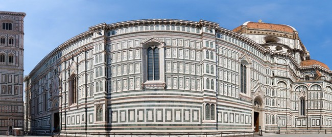 Италия. Флоренция. Duomo cathedral in Florence Italy. Panorama. Фото chaoss - Depositphotos