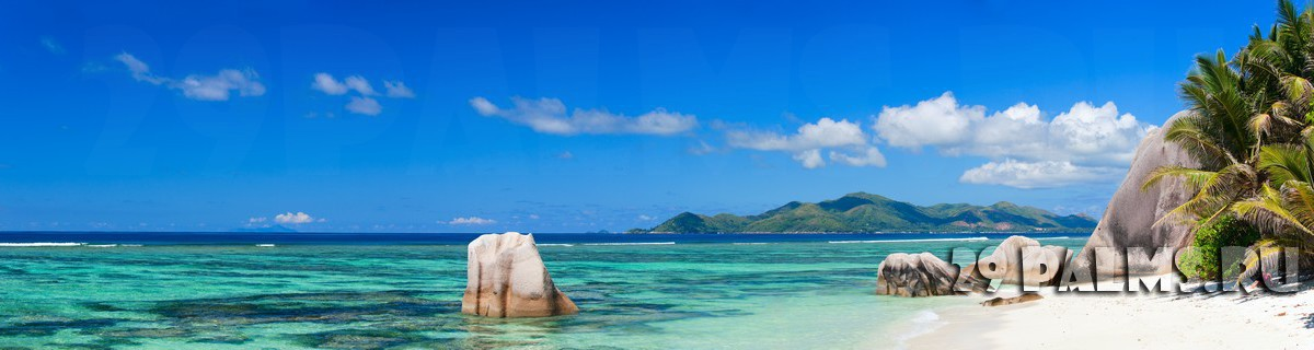 О.Ла Диг. Beautiful Anse Source d Argent Beach. Фото BlueOrange Studio - shutterstock