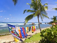 Барбадос. Bathsheba Beach Towels, Barbados. Фото Verena Matthew - Depositphotos
