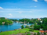 Сент-Люсия. Beautiful view of Saint Lucia, Caribbean Islands. Фото matfron - Depositphotos
