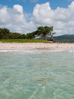 Сент-Люсия. Deserted sandy beach at Vieux Fort, Saint Lucia (ocean view). Фото Luis Santos - Depositphotos