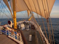 St.Lucia. Фотосессия Royal Clipper