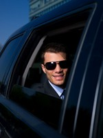 VIP. Бизнесмен. Outdoor Businessman. Фото dashek - Depositphotos