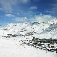 Франция.Val Claret, Tignes, Alps Mountains, Savoie, France. Фото phb.cz - Depositphotos