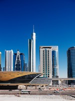 ОАЭ. Дубаи. Jumeirah Lakes Towers is a rapidly expanding district of Dubai. Фото  Sophie_James - Depositphotos