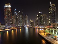 ОАЭ. Дубай Марина. View of the region of Dubai - Dubai Marina. Фото Ihar Balaikin - Depositphotos