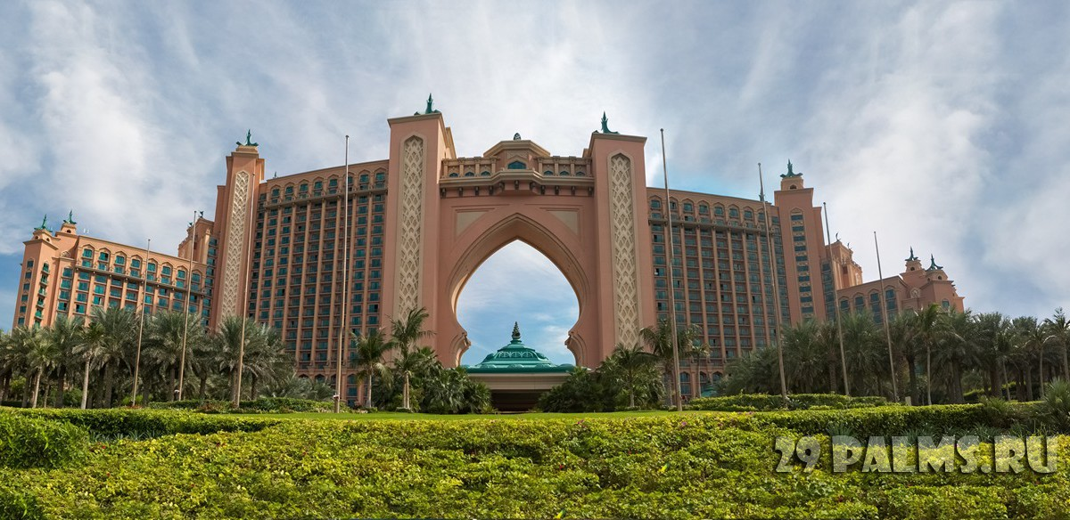 ОАЭ. Дубай. Atlantis the Palm. UAE. Фото Дмитрий Страхов - Depositphotos