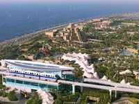 Atlantis, The Palm - Marine & Waterpark - Aquaventure Waterpark - Aquaventure Aerial