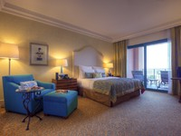 ОАЭ. Дубай. Atlantis, The Palm - Guest Rooms - Suites - Terrace Suite Bedroom