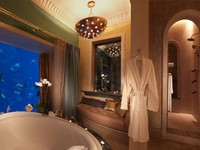ОАЭ. Дубай. Atlantis, The Palm - Guest Rooms - Super Suites - Underwater Suite Bathroom