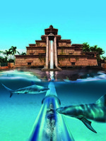 ОАЭ. Дубай. Atlantis, The Palm - Marine & Waterpark - Aquaventure Waterpark - Ziggurat