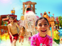 ОАЭ. Дубай. Atlantis, The Palm - Marine & Waterpark - Aquaventure Waterpark - Children in Splashers