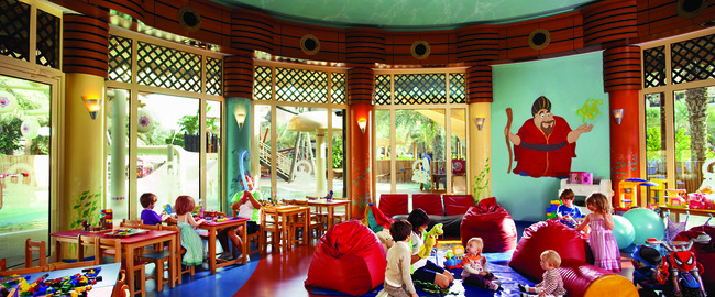 ОАЭ. Дубай. Madinat Jumeirah. Sinbads Kids Club - Play Area