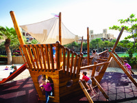ОАЭ. Дубай. Madinat Jumeirah. Al Qasr Hotel. Sinbads Kids Club. Jungle Gym
