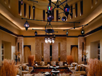 ОАЭ. Дубай. Madinat Jumeirah. Talise Spa. International Majlis Room
