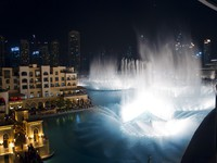 ОАЭ. Дубай. Даунтаун. Souk Al Bahar. Dubai Fountains. Фото Engin Korkmaz - Depositphotos