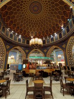 ОАЭ. Дубай. Молл Ибн Батута. Starbucks Cafe inside of the Ibn Battuta Mall. Фото Philip Lange - Depositphotos
