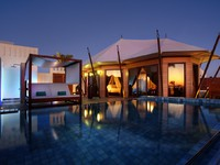 ОАЭ. Рас-эль-Хайма. Banyan Tree Ras Al Khaimah Beach. Beach Villa Pool View