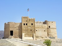 ОАЭ. Фуджейра. Fujairah Fortress United Arab Emirates. Фото pepj - Depositphotos