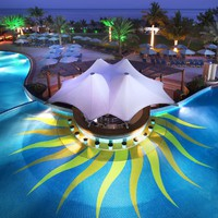 ОАЭ. Фуджейра. Le Meridien Al Aqah Beach Resort. Pool Bar