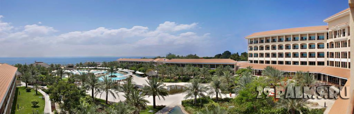 ОАЭ. Фуджейра. Fujairah Rotana Resort & Spa - Al Aqah Beach