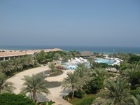 ОАЭ. Фуджейра. Fujairah Rotana Resort & Spa - Al Aqah Beach. Фото Павла Аксенова