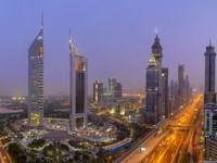 ОАЭ. Дубай. Jumeirah Emirates Towers