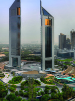 ОАЭ. Дубай. Jumeirah Emirates Towers. Daytime_View