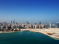ОАЭ. Абу Даби. A skyline view of Abu Dhabi, UAE's capital city. Фото Sophie_James - Depositphotos