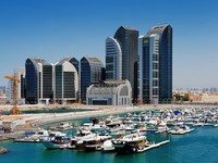 ОАЭ. Абу Даби. Al Bateen Marina, Abu Dhabi, UAE. Фото Sophie_James - Depositphotos