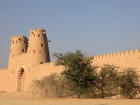ОАЭ. Абу Даби. Форт Аль-Джахили. Аль Айн. Al Jahili fort in Al Ain, Emirate of Abu Dhabi,Philip Lange - shutterstock