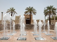 ОАЭ. Аль Айн. Fountain In Al Ain, Abu Dhabi. Фото Philip Lange - Depositphotos
