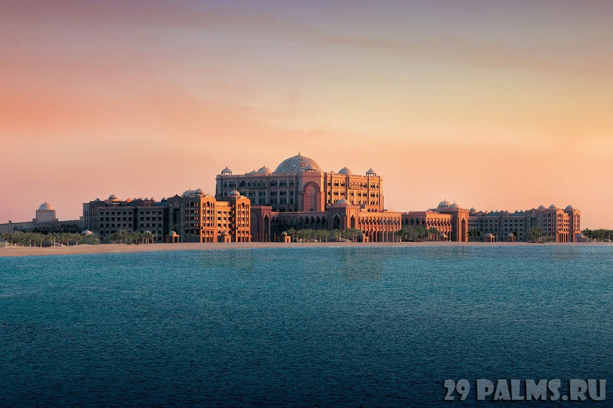 ОАЭ. Абу-Даби. Emirates Palace