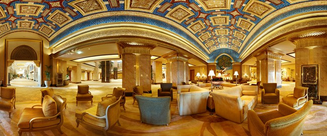 ОАЭ. Абу-Даби. Emirates Palace. Blue Salon