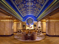 ОАЭ. Абу-Даби. Emirates Palace. The Blue Saloon