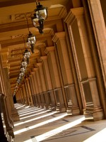 ОАЭ. Абу-Даби. Emirates Palace. Front Passage