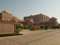 ОАЭ. Абу-Даби. Emirates Palace. Фото Павла Аксенова