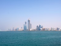 ОАЭ. Абу-Даби. Buildings And Skyscrapers In Abu Dhabi Downtown. Alexey Ochkin - Depositphotos