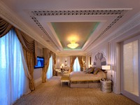 ОАЭ. Абу-Даби. Emirates Palace. Khaleej Suite (Bedroom)