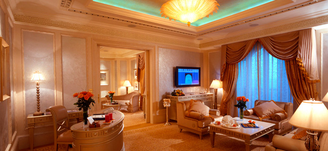 ОАЭ. Абу-Даби. Emirates Palace. Khaleej Suite (Lounge)