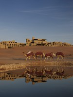 ОАЭ. Абу-Даби. Qasr Al Sarab Desert Resort by Anantara. Water Falaj