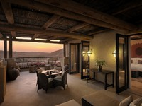 ОАЭ. Абу-Даби. Qasr Al Sarab Desert Resort by Anantara. Deluxe Terrace room