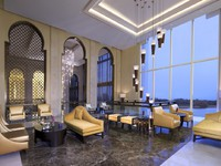 ОАЭ. Абу-Даби. Eastern Mangroves Hotel & Spa by Anantara. Lobby lounge